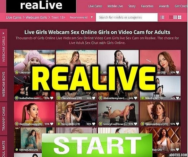 realive webcam girls
